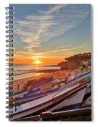 Olhos D'agua Village Sunset Spiral Notebook