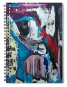 Apparitions, Ghosts  And Grottos Spiral Notebook