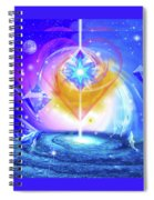 Heart Of The Galaxy Spiral Notebook
