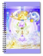 Divine Union Spiral Notebook