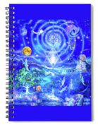 Infinite Life Force Spiral Notebook