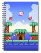 Adventure Kirby Spiral Notebook