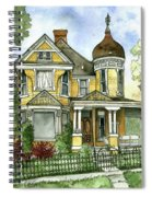 Victorian In The Avenues Spiral Notebook