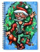 Christmas Elf Spiral Notebook