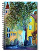 Morning In Tuscany Spiral Notebook
