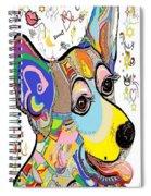 Corgi Cutie Spiral Notebook