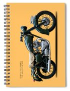 The Great Escape Motorcycle Spiral Notebook