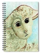 Just One Little Lamb Spiral Notebook