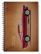 Ford Mustang Fastback 1965 Spiral Notebook