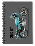 Ducati 860 Gt 1975 Spiral Notebook