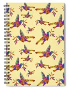 Dove With Olive Branch Spiral Notebook