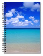 Aruba Sky And Sea Spiral Notebook