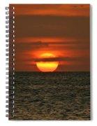 Arubian Sunset Spiral Notebook