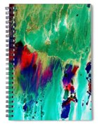 As The Colors Blend.. Spiral Notebook