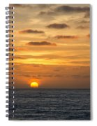 As The Sun Goes Down Spiral Notebook