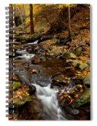 As The Water Runs Spiral Notebook