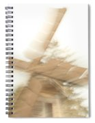 As The Windmill Spins Spiral Notebook