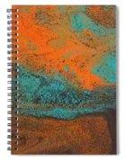 As  Water Flows Spiral Notebook