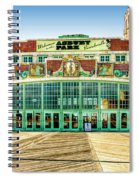 Asbury Park Convention Center Asbury Nj Spiral Notebook