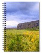 Asbyrgi Canyon Spiral Notebook