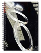 Ascending Rings Spiral Notebook
