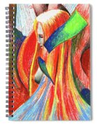 Ascent Of Water Spiral Notebook