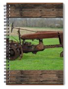 Ashes To Ashes - Rust To Rust Spiral Notebook