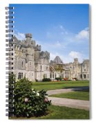 Ashford Castle, County Mayo, Ireland Spiral Notebook
