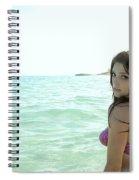 Ashley Greene Spiral Notebook