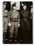 Ashley Pa  Glen Alden Coal Co  Huber Coal Breaker 1962 Spiral Notebook