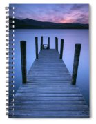 Ashness Jetty, Derwentwater, England Spiral Notebook