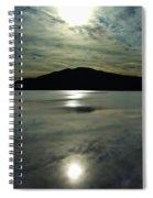 Ashokan Sunset Photograph Spiral Notebook