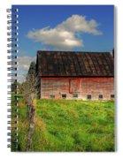 Ashtabula County Barn Spiral Notebook