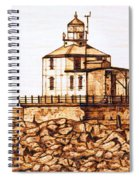 Ashtabula Harbor  Spiral Notebook