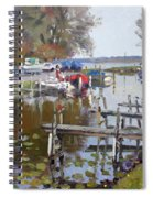 Ashville Bay Marina Spiral Notebook