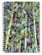 Asian Bamboo Forest Spiral Notebook