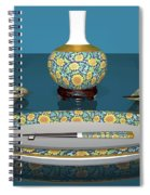 Asian Dining And Vases Spiral Notebook