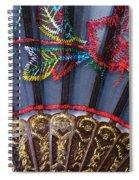 Asian Fan Spiral Notebook