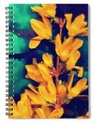 Asian Flower Spiral Notebook