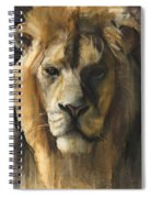 Asiatic Lion Spiral Notebook