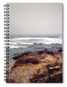 Asilomar Beach Pacific Grove Ca Usa Spiral Notebook