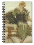 Ask Me No More....for At A Touch I Yield Spiral Notebook