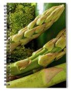 Asparagus Spiral Notebook
