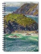 Asparagus Island Spiral Notebook