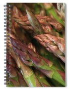 Asparagus Tips Spiral Notebook