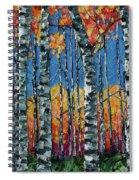 Aspen Grove By Olena Art Spiral Notebook
