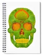 Aspen Leaf Skull 10 Spiral Notebook