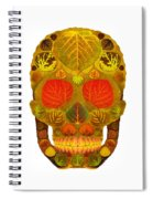 Aspen Leaf Skull 12 Spiral Notebook