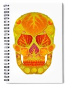 Aspen Leaf Skull 13 Spiral Notebook
