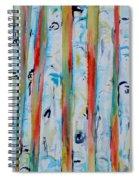 Aspens Abstract IIi Spiral Notebook